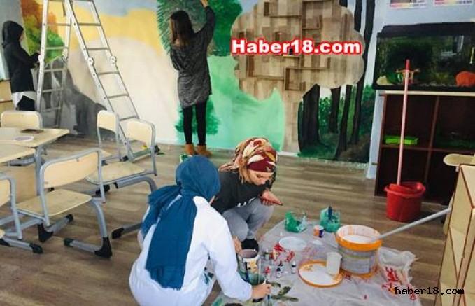 Çankırı - Sıradan Bir Sınıfı Harika Yaptılar - Şabanözü Haberleri haber18 haberleri