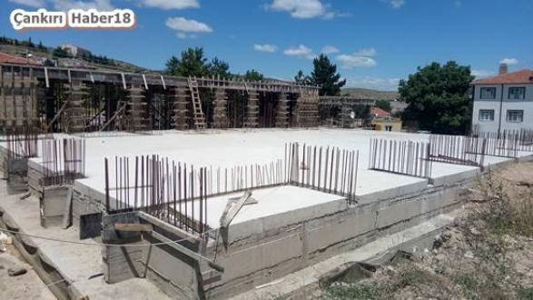 Çankırı - Spor salonu yapımı çalışmaları devam ediyor - Korgun Haberleri haber18 haberleri