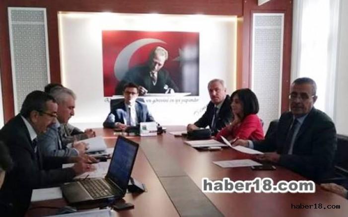 çankırı - Vali Yardımcısı Başkanlığında Komisyon Toplantısı Yapıldı Kurumlar