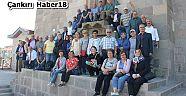 10 binin üzerinde turiste rehberlik hizmeti veriyor - Belediye Haberleri - Çankırı - haber18