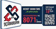 Çankırı - haber18 - 1074 Çankırıspor için hedef  18 Bin SMS - Çankırı Spor