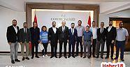Çankırı - haber18 - 1074 Çankırıspor Yönetimi Ziyaretlerde Bulundular - Çankırı Spor