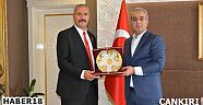 Çankırı - haber18 - 15 Temmuz Gazisi Kaymakam Gürbüz'ü Ziyaret Etti - Ilgaz haberleri