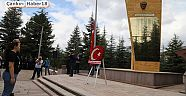 Çankırı - haber18 - 15 Temmuz,  Şehitlikte düzenlenen anma programı ile başladı.  - Genel Haber
