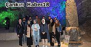 5 Bin Yıllık Tuz Mağarasında Ders İşlediler - Üniversite - Çankırı - haber18