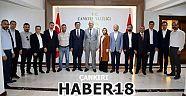 Çankırı - haber18 - AK Parti Çankırı İl Yönetimi Vali Hamdi Bilge Aktaş'ı Ziyaret Etti - Siyaset Haberleri