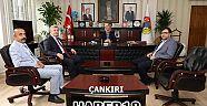Çankırı - haber18 - Ak Parti'den Başkan Esen'e Hayırlı Olsun Ziyareti - Siyaset Haberleri