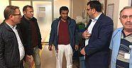 AK Parti İl Başkanın'dan Hastaneye Gece Ziyareti  Haberleri - Çankırı Haber18