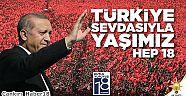 AK Parti Kuruluşunun 18. Yıl Mesajı - Siyaset - Çankırı - haber18