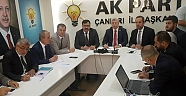 AK Parti Teşkilatı Halk Günde Vatandaşları Dinledi - Siyaset - Çankırı - haber18