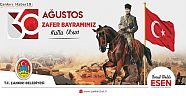 """Başkan Esen, """"30 Ağustos Zaferi İbretlik Mesajlarla Doludur"""" - Belediye Haberleri - Çankırı - haber18"""