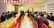 Çankırı - haber18 - Başkan Hüseyin Boz, Kurum Amirleri ile İstişare Etti - Hüseyin Boz