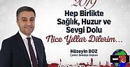 Çankırı - haber18 - Başkan Hüseyin Boz,Yeni Yıl Mesajı Yayınladı - Hüseyin Boz