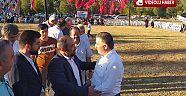 Çankırı - haber18 - Belediye başkanı bakan gibi konuştu. Ozan gibi dörtlük okudu - Ilgaz haberleri