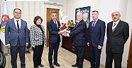 Çankırı - haber18 - Belediye Başkanı Hüseyin Boz'a Vergi Haftası Ziyareti - Hüseyin Boz