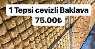 Çankırı - haber18 - Bir Tepsi Baklava Revoli'de Sadece 75 TL - İlanlar Duyurular