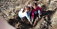 Buluca Köyü sakinleri 715 fidanı toprakla buluşturdu.  Haberleri - Çankırı Haber18