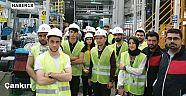 Çankırı - haber18 - ÇAKÜ Öğrencileri Arçelik Fabrikasına Teknik Gezi Gerçekleştirdi - Üniversite