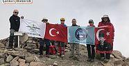 Çankırı - haber18 -  ÇANDAK Hasandağı Tırmanışı Başarıyla Tamamlandı - STK