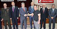 Çankırı - haber18 - Çankırı'da Protokolü Bayramlaştı - Valilik Haberleri