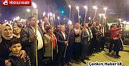 Cumhuriyet  Bayramında 96 Meşale İle Yürüdüler  Haberleri - Çankırı Haber18