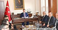 Çankırı - haber18 - Çerkeş İlçesinde Okul Müdürleri İle Toplantı Yapıldı - Çerkeş haberleri