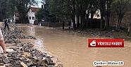 Çankırı - haber18 - Çerkeş Karamustafa köyüne  Sel Geldi - Çerkeş haberleri