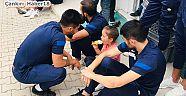 Çankırı - haber18 - Çocuklar 1074 Çankırıspor'a Moral Ve Motivasyon Sağladı - Çankırı Spor