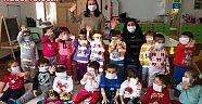 Çankırı - haber18 - Çocuklar İle Birlikte Maskelerini Taktılar - Eldivan Haberleri