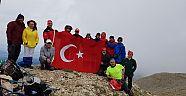 Çankırı - haber18 - Demokrasi ve Milli Birlik Günü Tırmanışı Gerçekleştirildi - STK