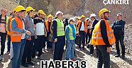 Dereçatı SSB Barajına Teknik Gezi Düzenlediler - Üniversite - Çankırı - haber18