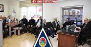 Çankırı - haber18 - Hüseyin Boz, Siyasi Partileri Ziyaret Etti - Hüseyin Boz