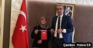 Çankırı - haber18 - Ilgaz Kaymakamına Türk Bayraklı Ok Hediye Etti - Ilgaz haberleri