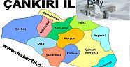 İlimiz Genelinde 39  Köy Yolu Kapalı - Kurumlar - Çankırı - haber18
