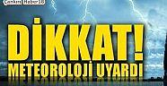 Çankırı - haber18 - İlimiz İçin Meteorolojik Uyarı - İlanlar Duyurular