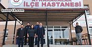 Çankırı - haber18 - Kaymakam Çelik , Geçici Hastaneyi Ziyaret Etti - Atkaracalar Haberleri