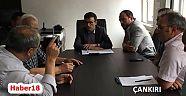 Kaymakam  Mustafa Emre KILIÇ Başkanlığında Eğitim Değerlendirme Toplantısı - Yapraklı - Çankırı - haber18
