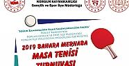 Çankırı - haber18 - Korgun'da Masa Tenisi Turnuvası Düzenlenecek - Korgun Haberleri