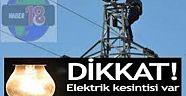 Çankırı - haber18 - Kurşunlu Köylerinde Elektrik Kesinti Uyarısı - Kurşunlu Haberleri
