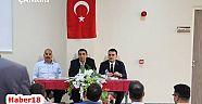 Çankırı - haber18 - Kurumların Katılımı İle Atkaracalar'da Muhtarlar toplantısı gerçekleştirildi - Atkaracalar Haberleri