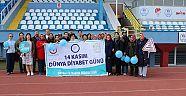 Çankırı - haber18 - Mavi Balon ve Kurdelelerle Yürüdüler - Sağlık Müdürlüğü