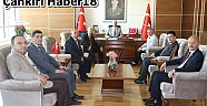 MHP İl Yönetimi Vali Aktaş'ı Ziyaret Etti - Siyaset - Çankırı - haber18