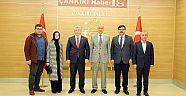 Milletvekili Akbaşoğlu ve Siyasiler Vali AKtaş'ı Ziyaret Ettiler  Haberleri - Çankırı Haber18