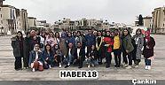Çankırı - haber18 - Nevşehir Hacı Bektaş Veli Üniversitesi'ne Teknik Gezi - Üniversite
