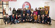 Çankırı - haber18 - Öğrenciler Başkan Hüseyin Boz'u Ziyaret Ettiler - Hüseyin Boz