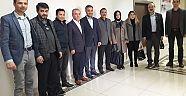 Önceki Dönem Başkanları Hüseyin Boz'u Ziyaret Ettiler  Haberleri - Çankırı Haber18