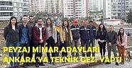 Peyzaj Mimar Adayları Ankara'ya Teknik Gezi Yaptı - Üniversite - Çankırı - haber18