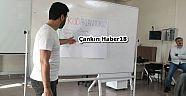 Proje Eğitimleri Verdiler - Eğitim - Çankırı - haber18