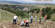 Şabanözü Evliya Tepesi altında fidan dikimi gerçekleşti - Şabanözü - Çankırı - haber18