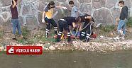 Çankırı - haber18 - Şehir Merkezinde Bir Çocuk Çaya düştü - Genel Haber